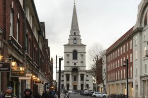 Streetview of Christ Church, Spitalfields